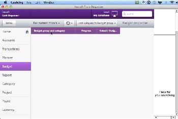 Inesoft Cash Organizer for Mac full screenshot
