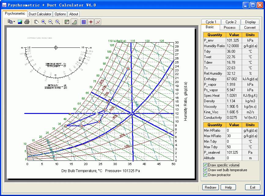 HVAC Duct Sizing Chart