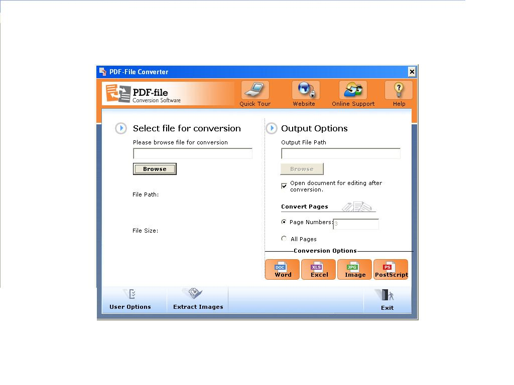 to convert page files to pdf