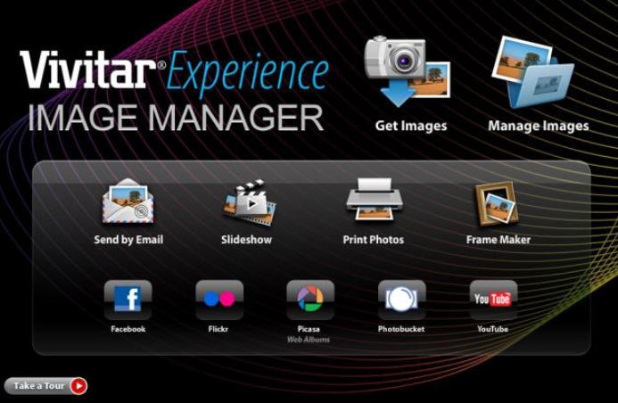 download vivitar experience image manager