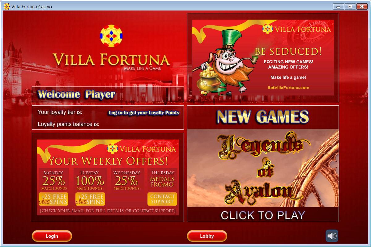 villa fortuna casino