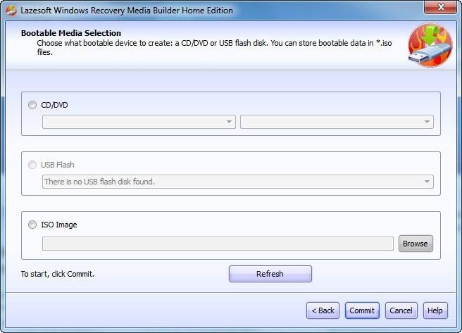 Lazesoft Windows Recovery Unlimited Edition 33 Cuu Ho Khan Cap Khi Khong Vao Duoc Windows